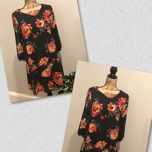 Everly Floral print dress